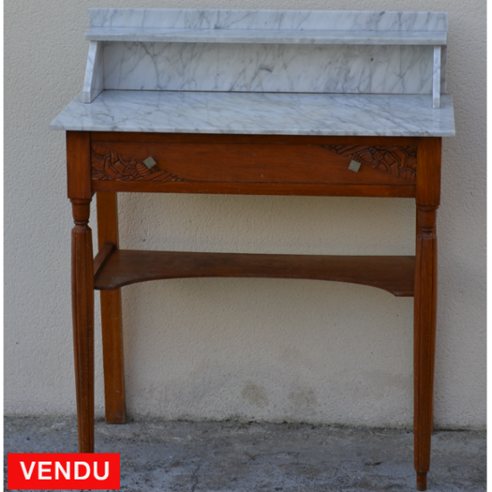 Table de toilette ancienne art deco 1930