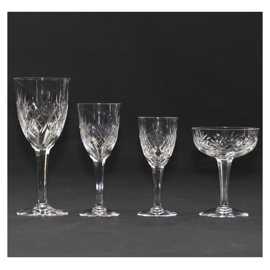 Service de verres - Cristal Lorrain