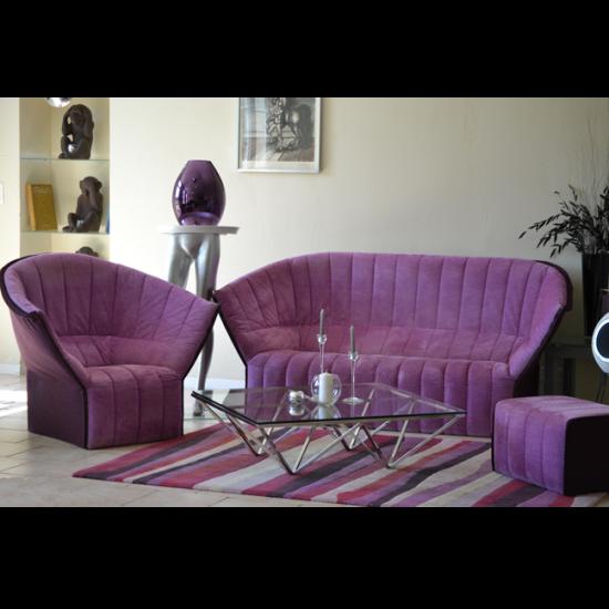 salon ligne roset mod le 39 moel 39 par inga sempe. Black Bedroom Furniture Sets. Home Design Ideas