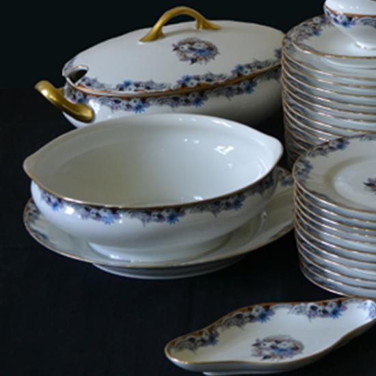 Service de table porcelaine de limoges art d co - Decoration conseil limoges ...